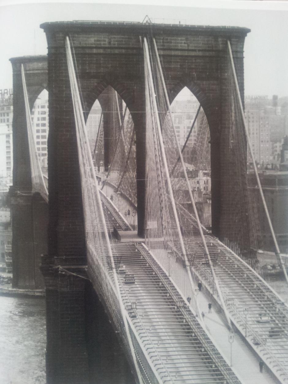 Andreas Feininger - Brooklyn Bridge - 1954. Photo taken from book, using  Goggles