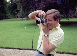 Prins Claus als fotograaf in 1968