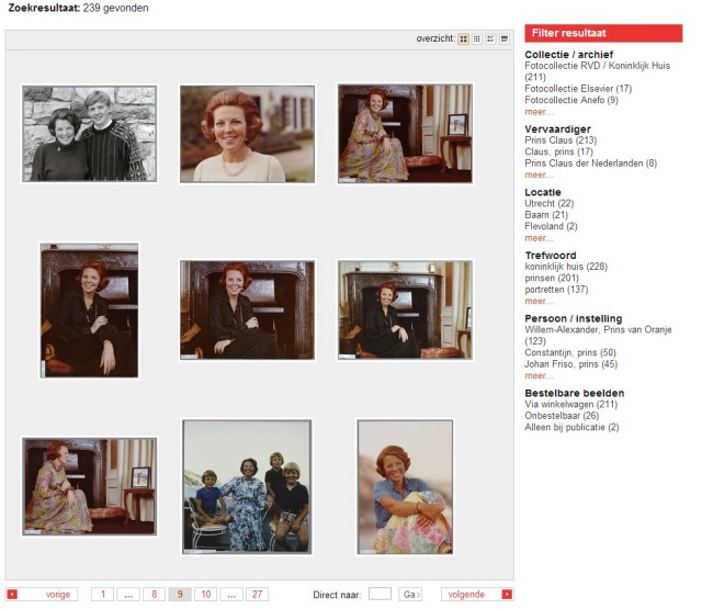 Online familiealbum van Prins Claus