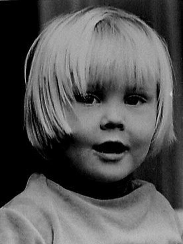 Willem-Alexander op zijn 4e verjaardag door Prins Claus gefotografeerd