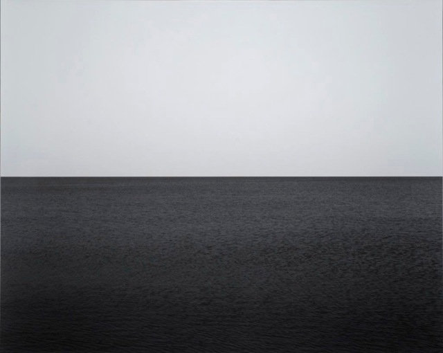 Seascape: Baltic Sea, near Rügen, 1996. Sugimoto
