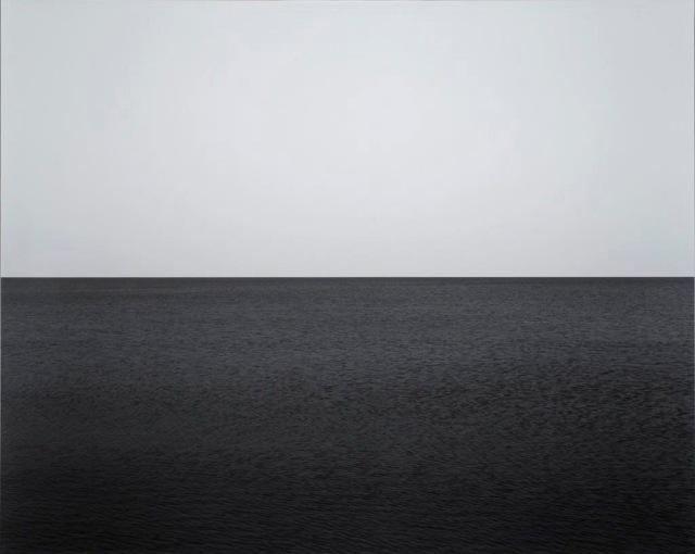 Seascape: Baltic Sea, near Rügen, 1996. Sugimoto