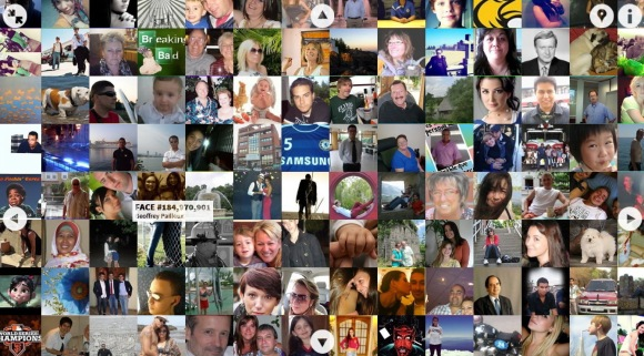 The Faces of Facebook, ingezoomd