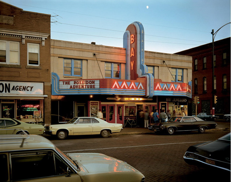 Stephen Shore. Second Street, Ashland, Wisconsin, July 9, 1973