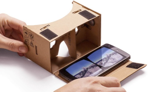 Google Cardboard (basis variant). Foto (c) Google.