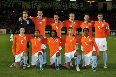 Jong Oranje in 2009