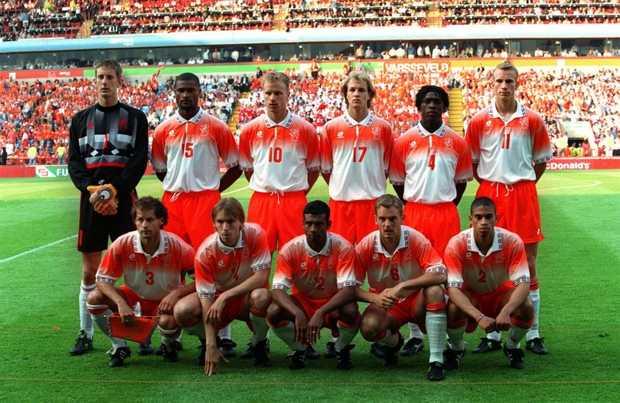 Oranje in 1996
