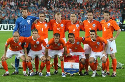 Elftalfoto nederlands elftal 1988 7