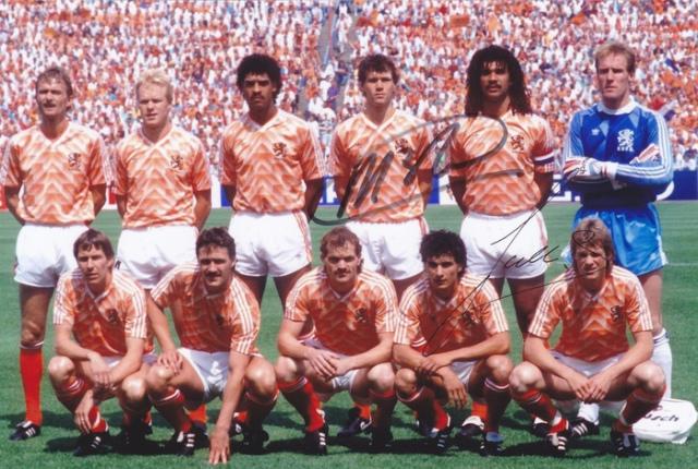 Oranje op het EK 1988
